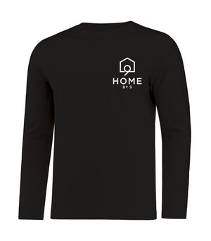 Unisex Long Sleeve - Black - Home By Nine