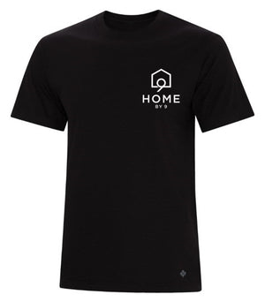 Unisex T-Shirt - Black - Home By Nine