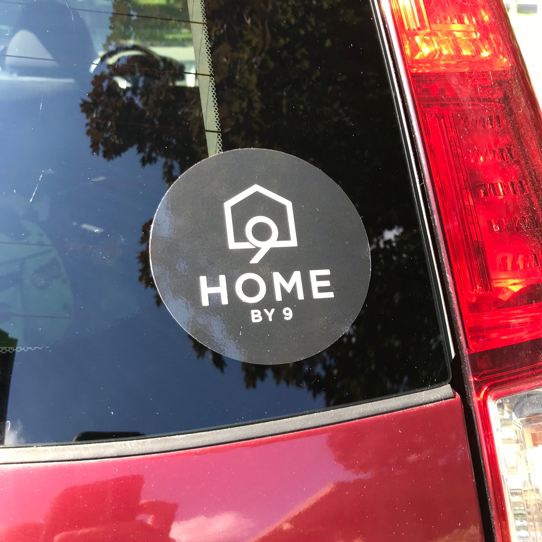 "The 4"" Sticker - Home By Nine"