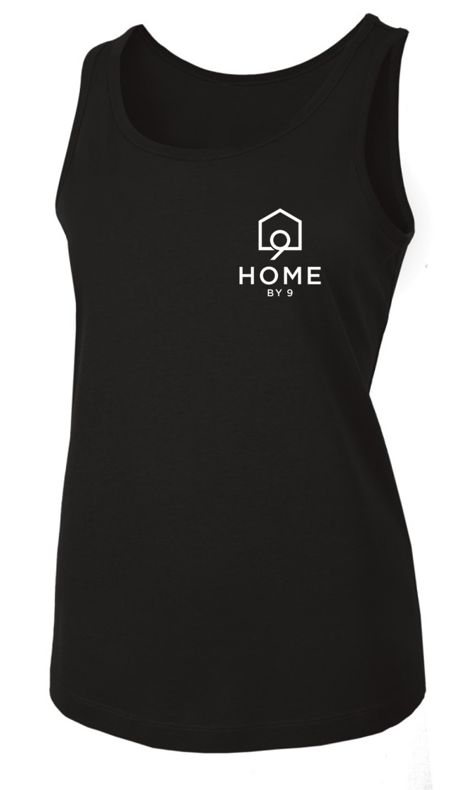 The Women's Tank - Black - Home By Nine