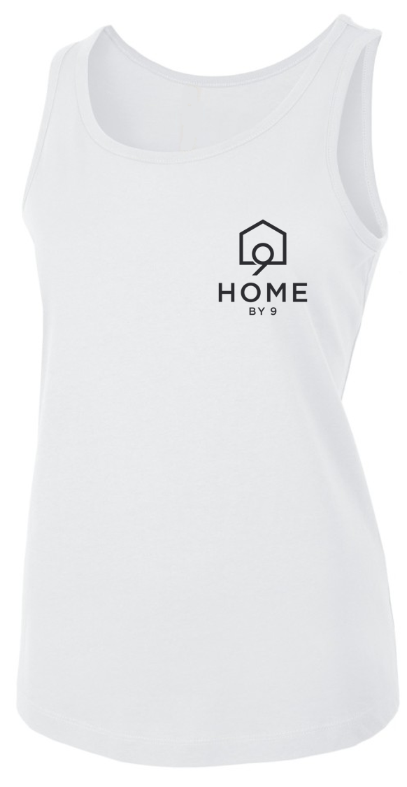The Women's Tank - White - Home By Nine