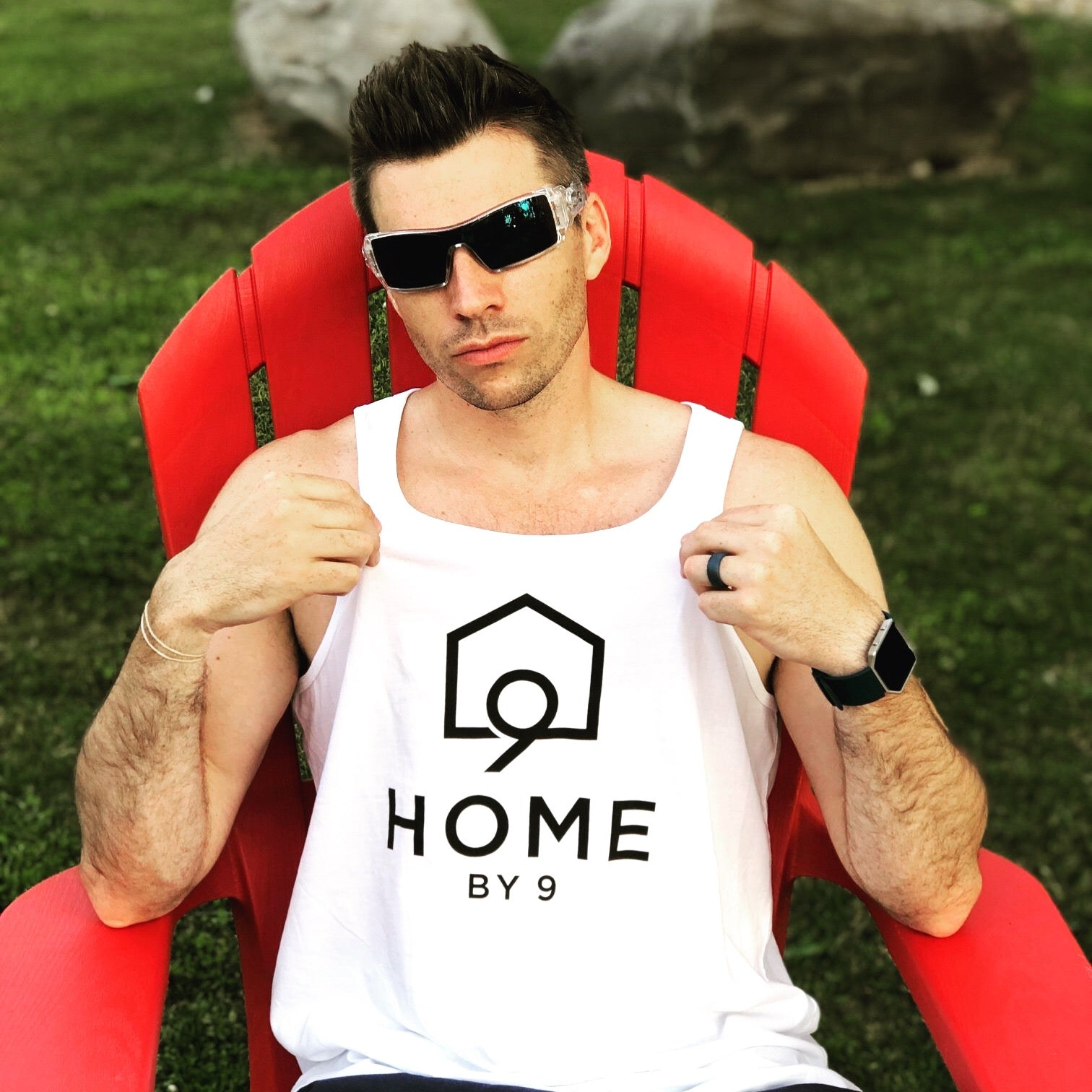The Men's Tank - Home By Nine