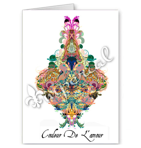 COLOR OF LOVE CARD