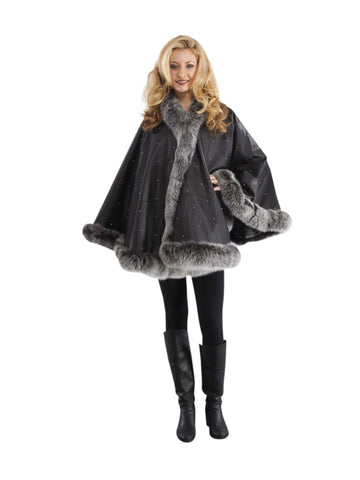 Long Sleeve Outwear FOX Fur Coat Jacket For Women