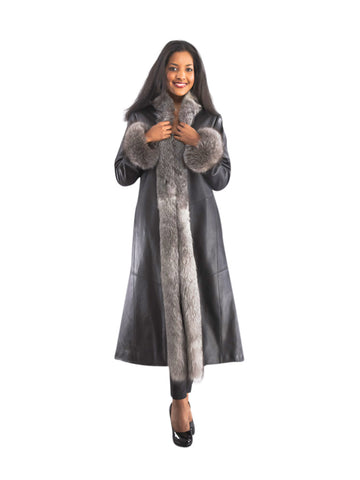 CLASSIC WOMEN'S FUR STYLED JACKET FOR ALL-SEASON