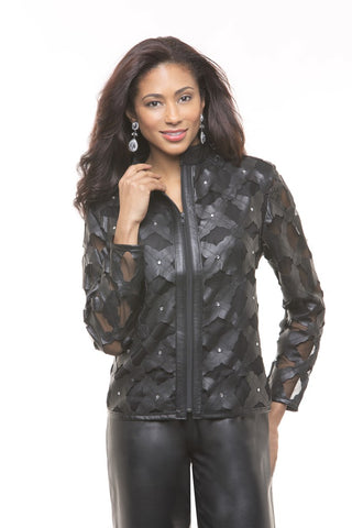 SUPER WOMEN'S LEATHER JACKET FOR ALL SEASON