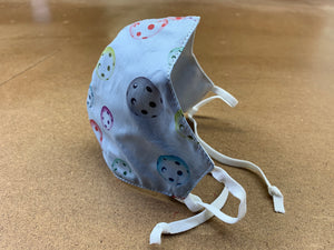 Masks with a Purpose - Pickleball Lt. Blue Chambray
