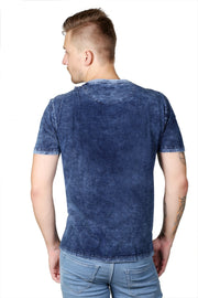 Styrrior 2102 -Indigo Denim Washed Prime Zone Tshirt