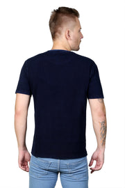 Styrrior 2109 - Indigo Denim Dark Blue Regular Fit Tshirt