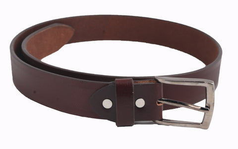 2262 -Men Brown Leather Belt
