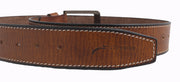 2263 - Brown Tan Leather Belt