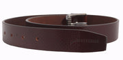 2266 - Checks Brown Leather Belt