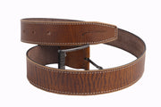 STyrrior 2141 - Brown Tan Leather Belt