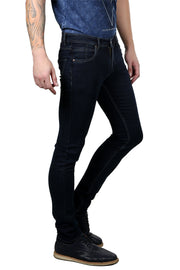 Styrrior 2145 - Slim Narrow Fit Classic Basic Dark Grey Dobby Denim