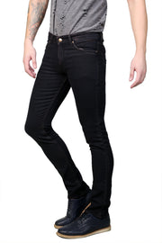 Styrrior 2150 - Slim Narrow Fit Classic Basic Coffee Brown Dobby Denim