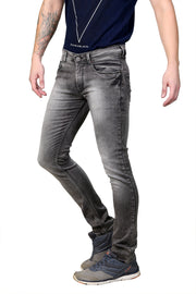 Styrrior 2158 - Slim Fit Smoke Brown Knitted Jeans