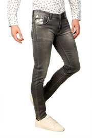 Styrrior 2230 - Skinny Fit Grey Washed Knitted Jeans