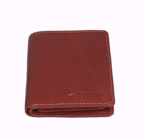 Styrrior 2243 - Tan Leather Two Fold Vertical Wallet
