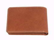 Styrrior 2255 - Camel Tan Solid Leather Two Fold Wallet