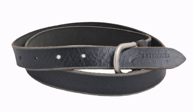 Styrrior 2257 - Dark Grey Super Slick Unisex Leather Belt