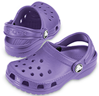 Crocs Kids Cayman in Purple