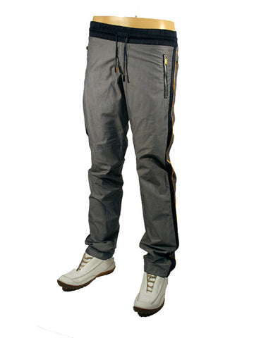 Mens Designer Fashion Tracksuit Bottoms from Italian Fashion Brand Antony Morato in Grey