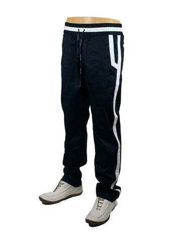 Mens Designer Fashion Tracksuit Bottoms from Antony Morato in Navy Blue