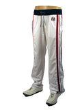Mens Designer Fashion Full Tracksuit from Antony Morato in White with Stripes