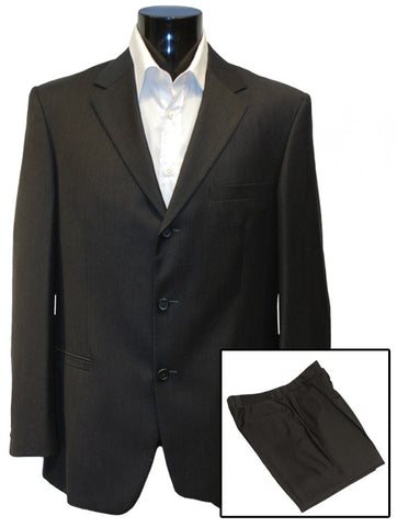 Mens Top Brand Designer Luxury Suit by Versace Pure Wool in Grey