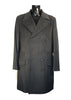Mens Designer Fashion Coat by Daniel Christian Full Length in Black