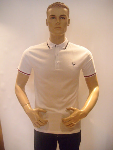 Polo Shirt Brighton by Daniel Christian in White
