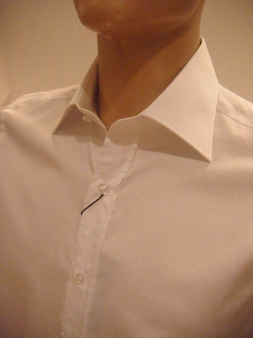 Mens Designer Fashion Shirt by Daniel Christian Roger in White