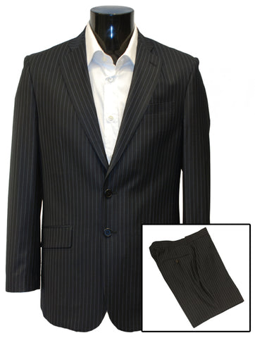 Mens Designer Suit by Daniel Christian in Navy Blue Single Breasted