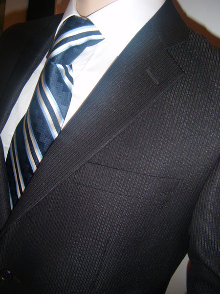 Mens Designer Suit by Daniel Christian in Black