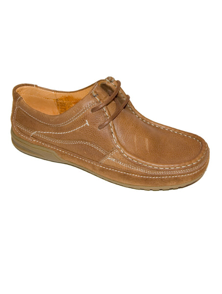 Mens Designer Fashion Shoes Avila by Front London in Real Leather Tan