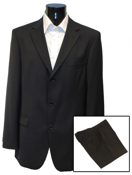 Mens Top Brand Designer Luxury Suit by Hugo Boss in Navy Blue