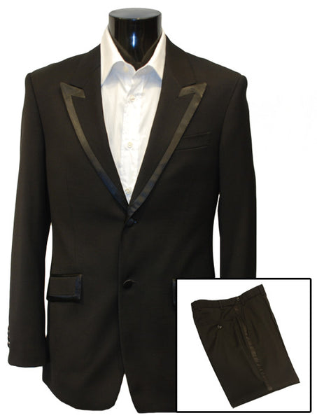 Mens Designer Dinner Suit by IDentikit in Black