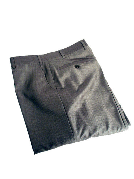Mens Designer Fashion Trousers by IDentikit in Dark Grey