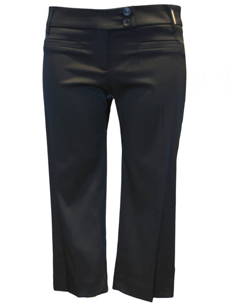 Ladies Designer Fashion Trousers from Guess by Marciano in a 3/4 Length Style Black