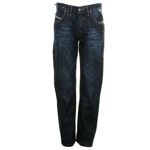 Mens Jeans by Mish Mash Mulan Loose Fit Straight Leg Style