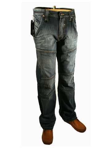 Mens Jeans by Mish Mash Night Storm Mid Fade Denim Style