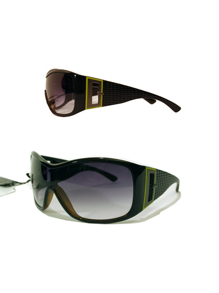Ladies Designer Fashion Sunglasses by Francesco Biasia with Turtle Effect Rims & Dark Tinted Lenses