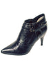 Ladies Designer Fashion Ankle Boots Lady Pu by XTi in Black