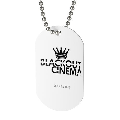 BLKOUT crown logo Dog Tag