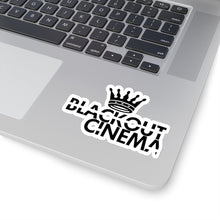 Load image into Gallery viewer, Blackout crown logo stikka
