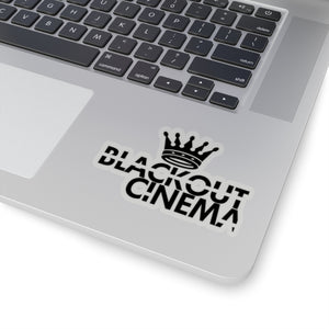 Blackout crown logo stikka