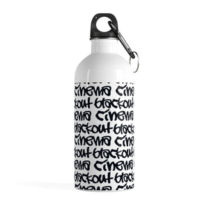 BLACKOUT graff Stainless Steel Water Bottle