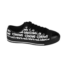 Load image into Gallery viewer, Blackout blackground graff Men's Sneakers