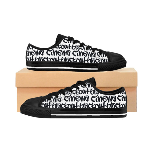 Blackout B/W graff Men's Kicks