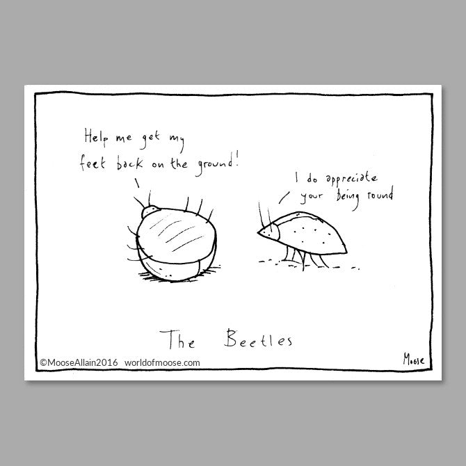 Beetles Cartoon